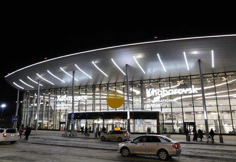 ハバロフスク空港国内線ターミナル