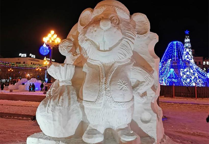 ロシアの伝統的な民話やアニメのキャラクター
