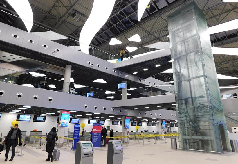 ハバロフスク国際空港新国内線ターミナル