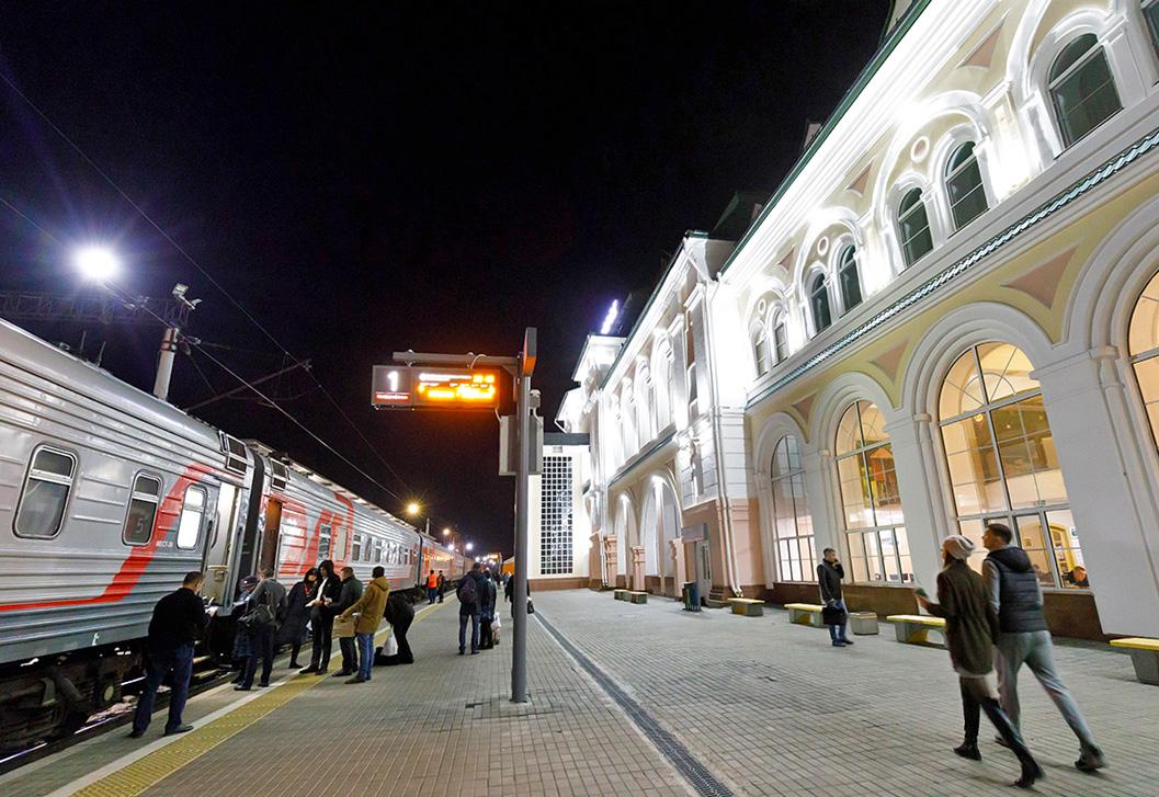 シベリア横断鉄道の夜行寝台