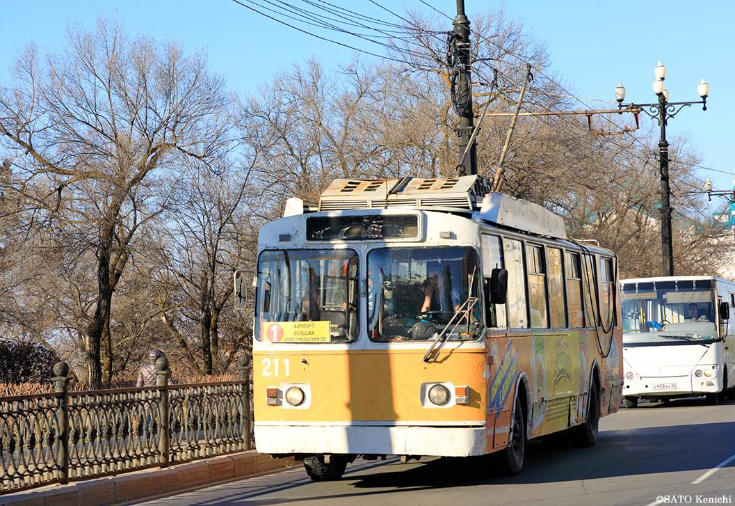 ハバロフスクのトロリーバス