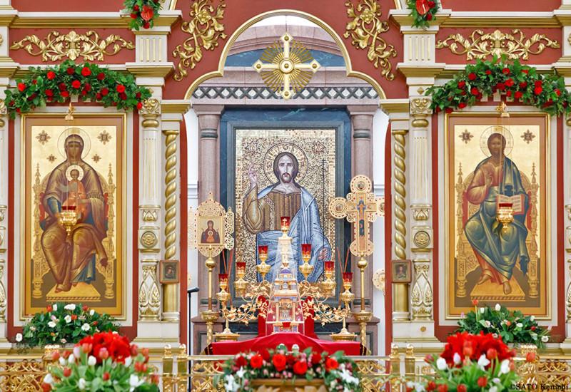 市内に点在しているロシア正教会