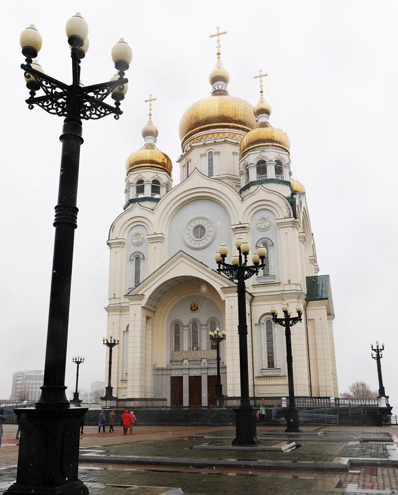 スパソ・ブレオブラジェンスキー大聖堂(Спасо-Преображенский Кафедральный Собор)