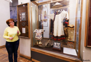 先住民の衣装