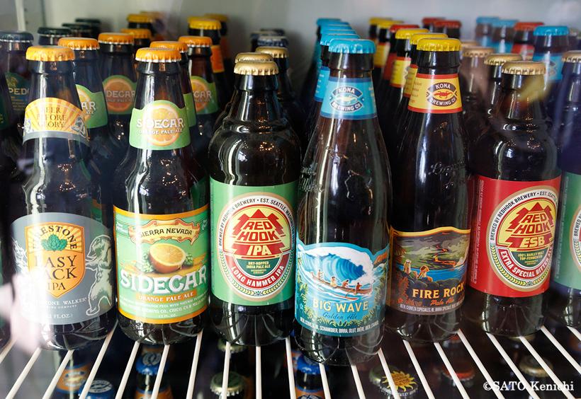 ビールの種類も豊富