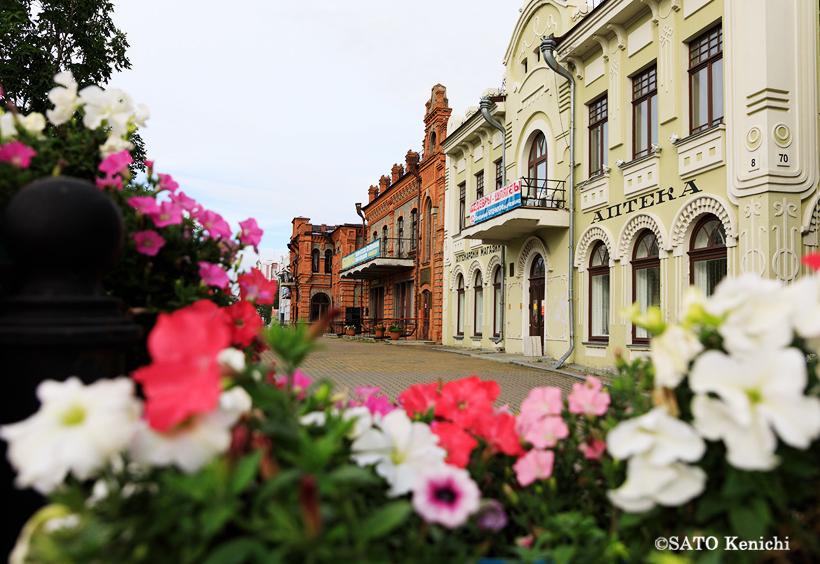 Дом Хлебникова  薬局(旧フレブニコフ集合住宅)