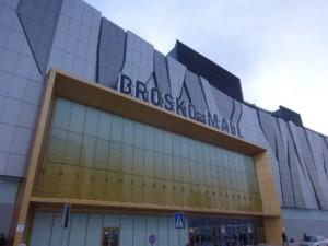 ショッピングモール「BROSKO MALL(ブロスコモール)」