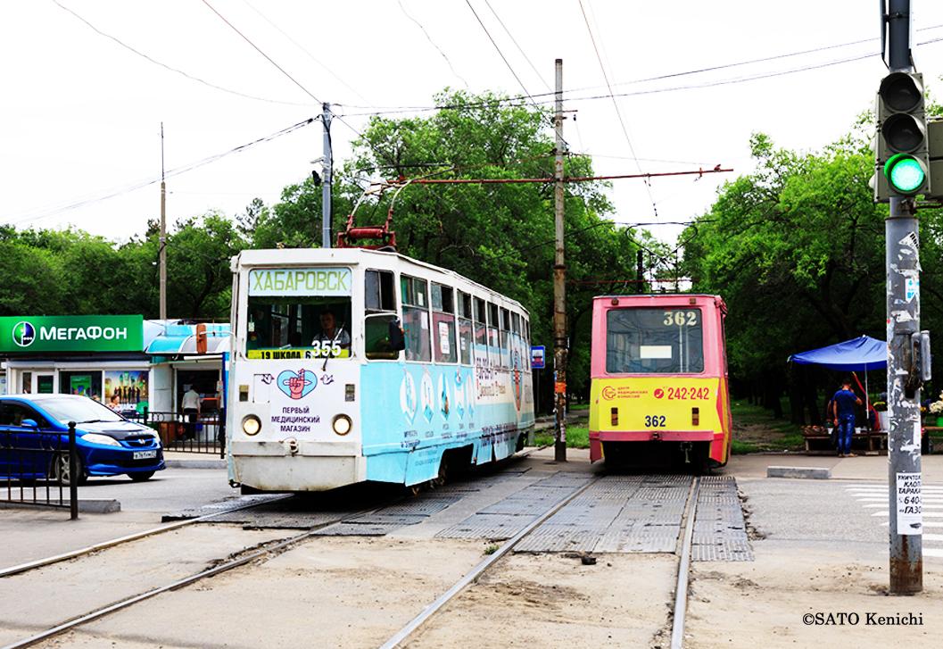 ハバロフスクの路面電車
