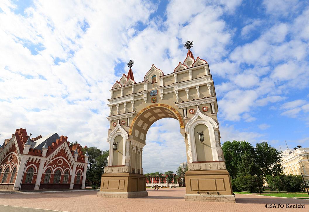 ブラゴヴェシチェンスクの凱旋門