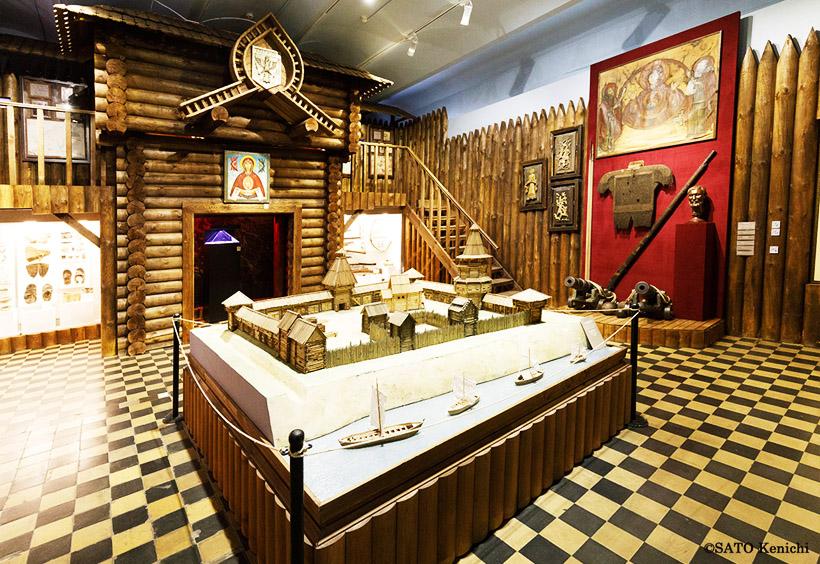 ブラゴヴェシチェンスクの歴史、木造の要塞