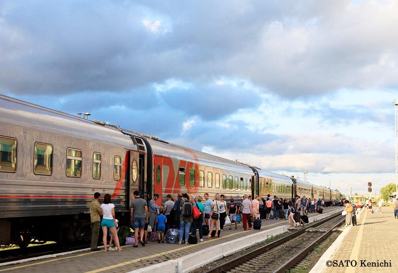 アムールスキーエクスプレスという夜行列車