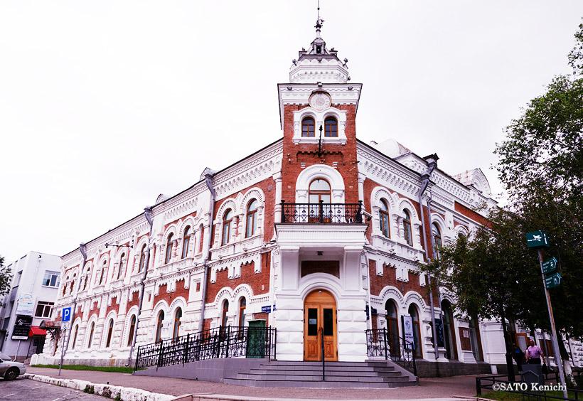 ブラゴヴェシチェンスクのアムール州郷土歴史博物館