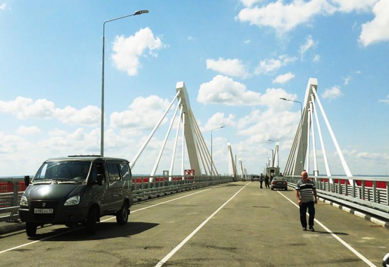 国境横断橋