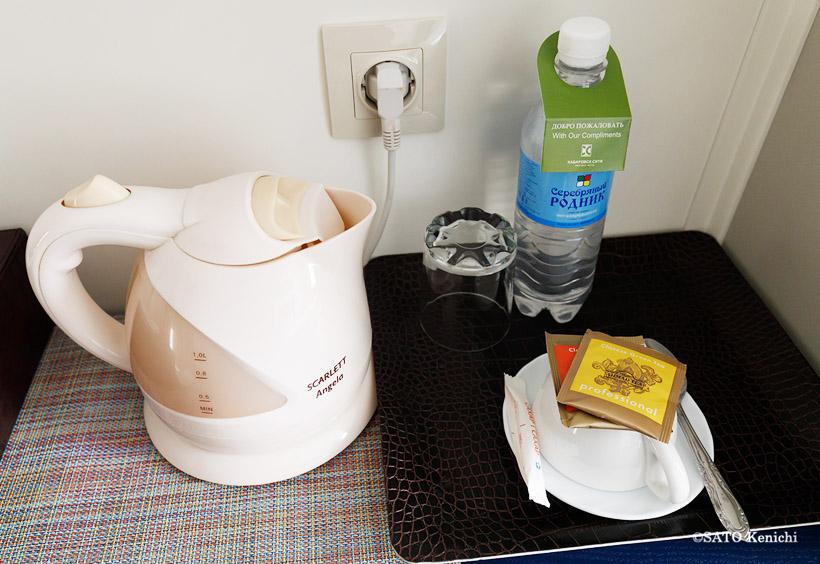 電気ポットやお茶のサービスも有り