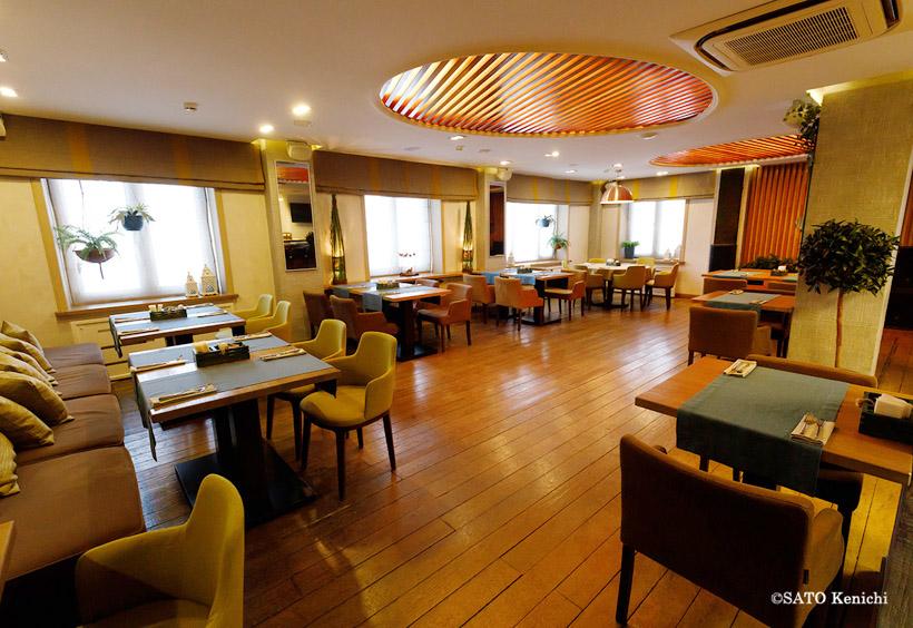 1階のロシア料理レストラン