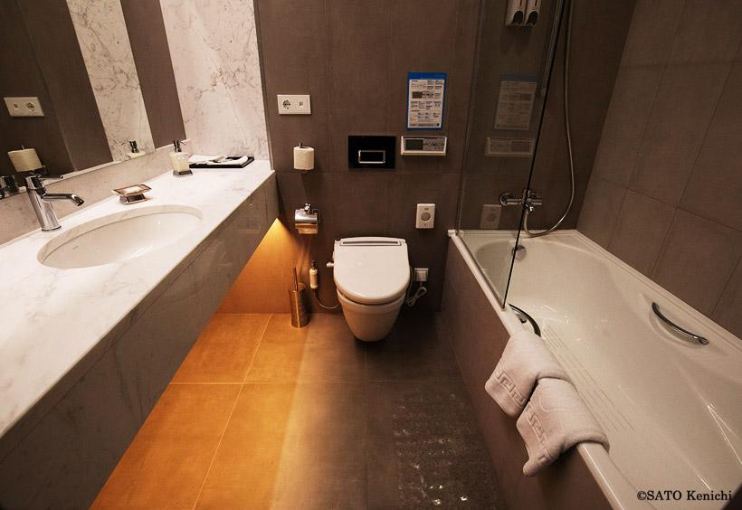 アムールのバスルーム