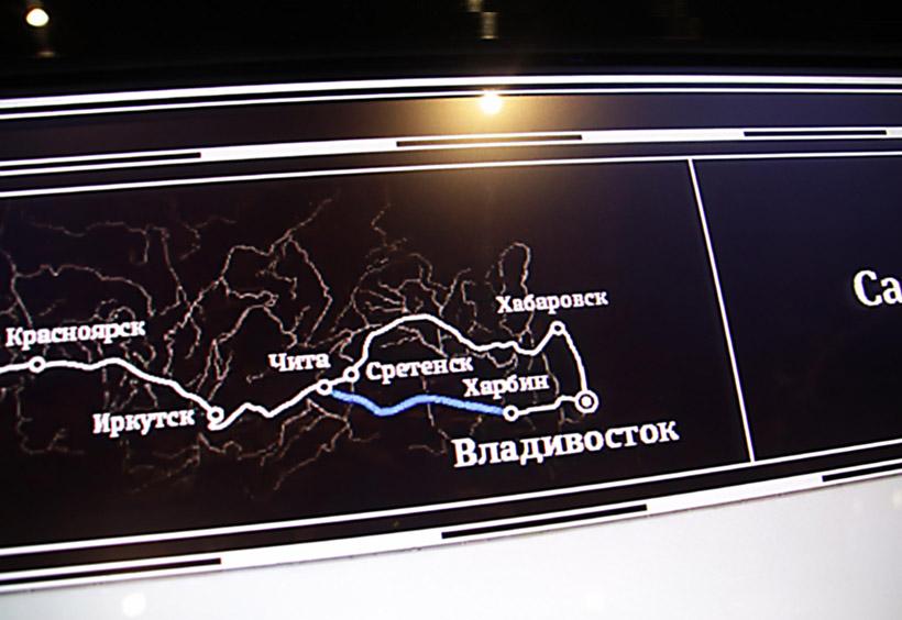 イルクーツクからチタを通るザバイカル鉄道も開通