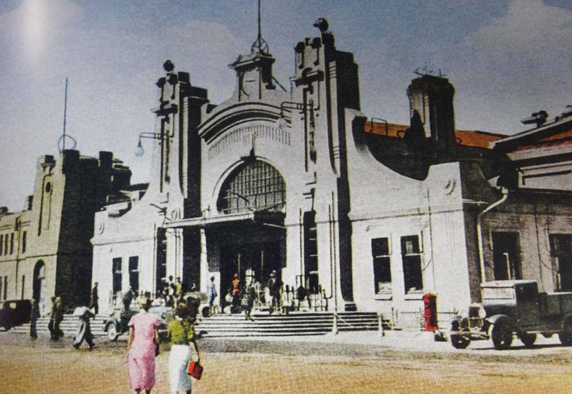 東清鉄道の主要駅だったハルビン駅の風景