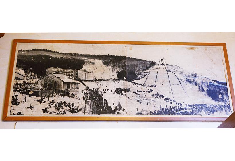 歴史も古く、実は樺太時代からこの場所にスキー場がありました