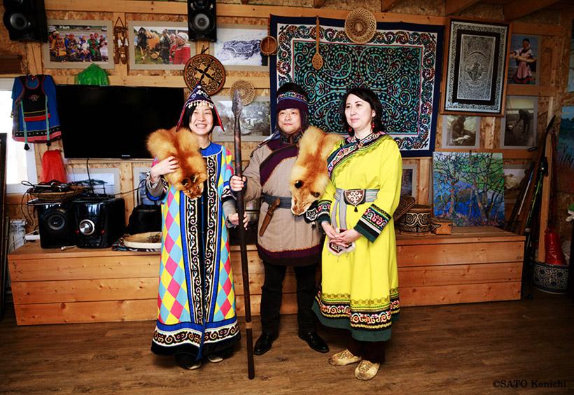 ナナイ人の民族衣装