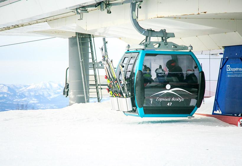 最新スキーリゾートとして大きく生まれ変わりました