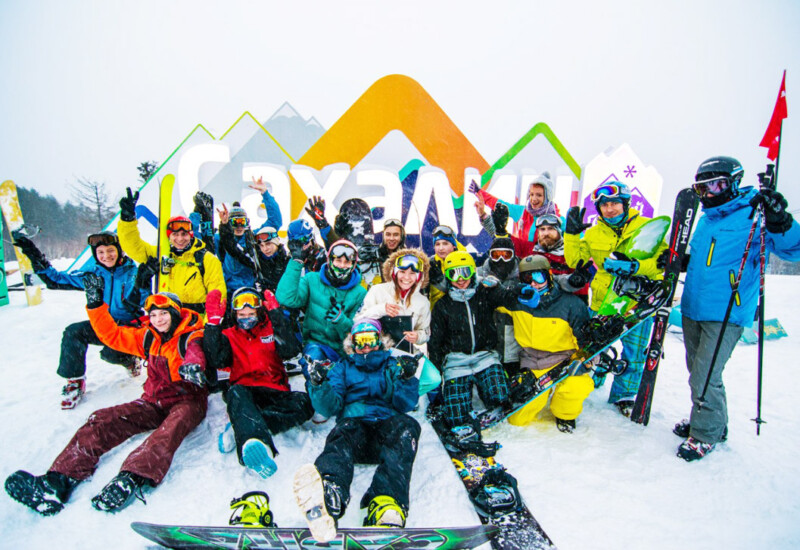 山の空気スキー場