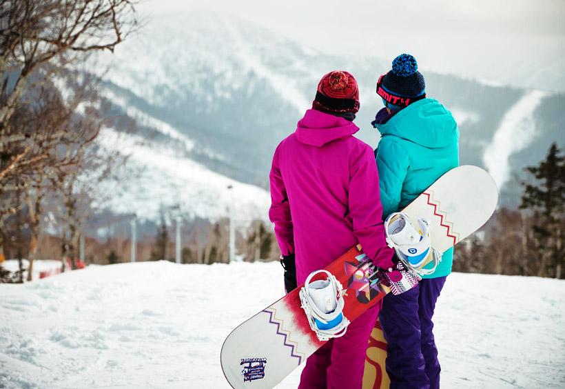 ロシアではスノーボードが人気