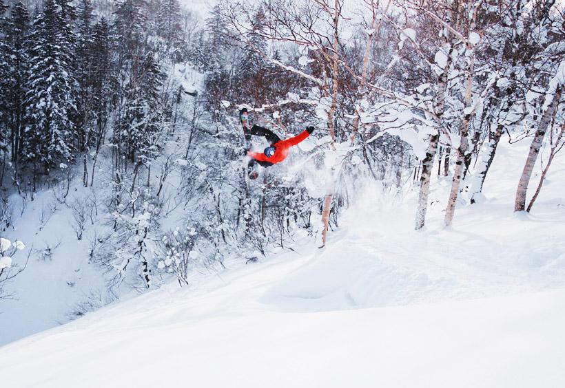 サハリン観光局が制作したこのスキー場の写真