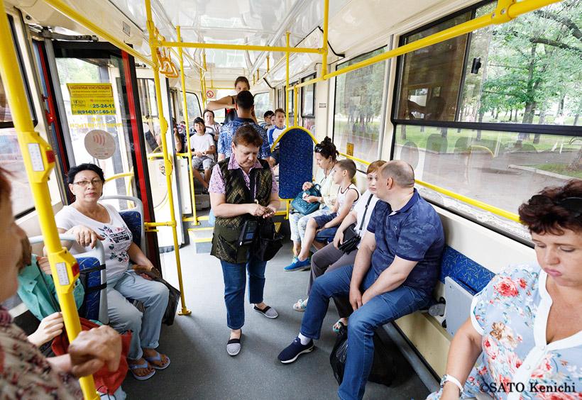 ロシア語レッスンは、授業の合間に市内の交通機関に乗ったり、博物館や美術館などを訪ねることも