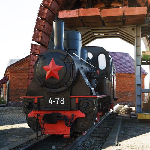 サハリン鉄道博物館