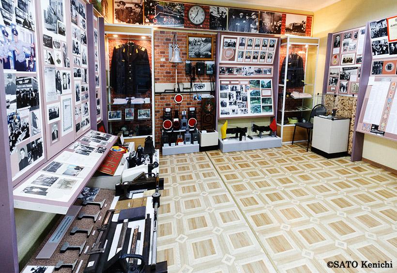 これはソ連時代の展示の部屋です