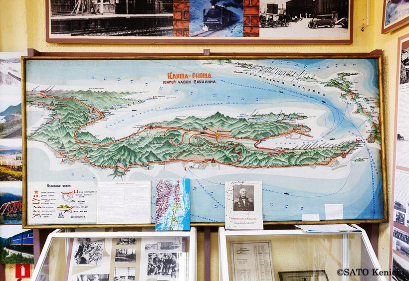 大正期から昭和初期にかけて日本で流行したサハリンの鳥瞰図