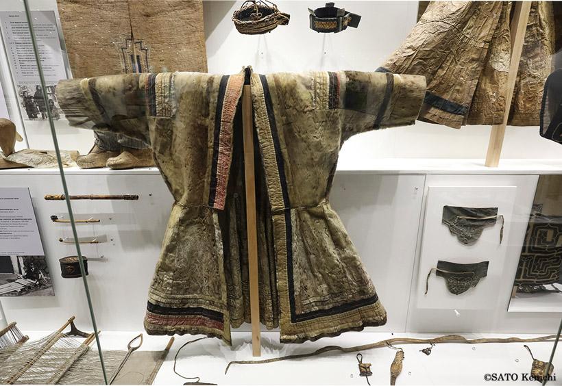 南樺太に多く住んでいたアイヌの資料は、日本時代に蒐集されたものだと思われます