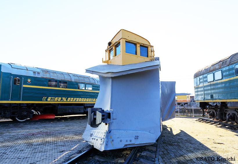1939年に日本で製造されたラッセル車(雪かき車「輪島」)です
