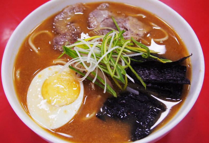 サハリンでは日本のラーメンも食べられます