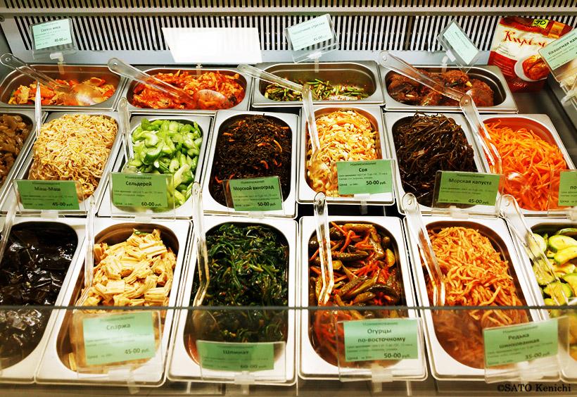これらの韓国風惣菜は「パンジャン」と呼ばれています