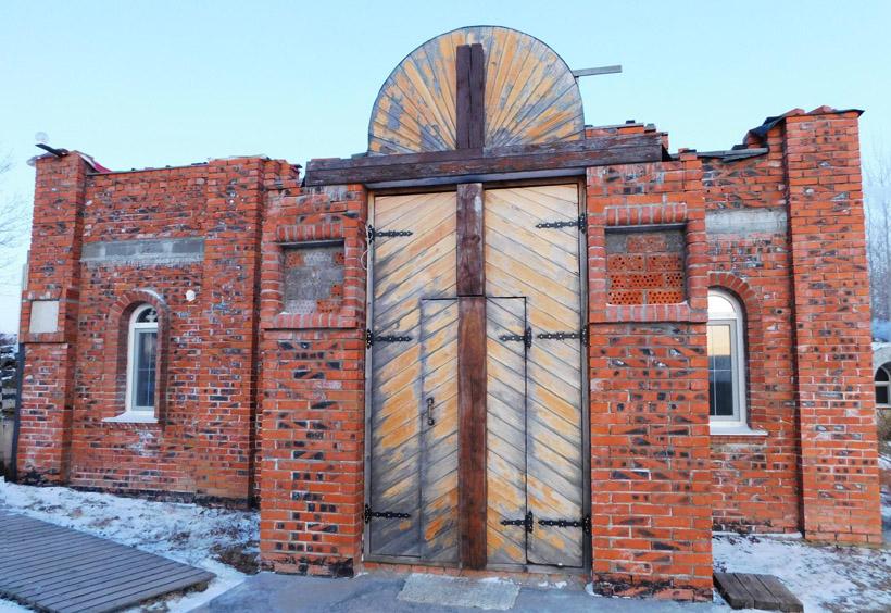 キエフ・ペチェールシク神父の神殿と呼ばれる地下教会