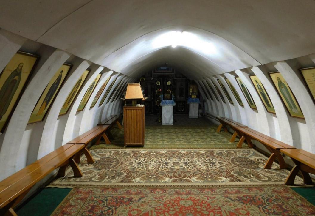 キエフ・ペチェールシク神父の神殿
