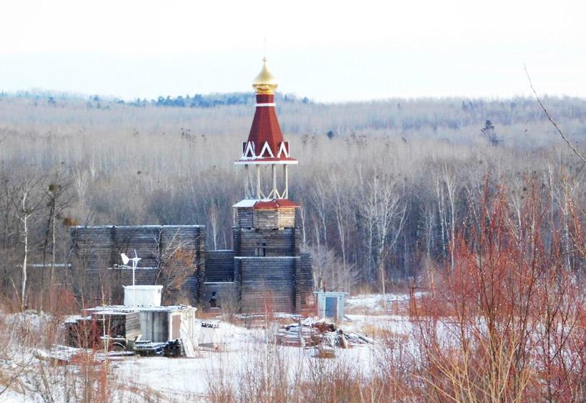 この居住区のもうひとつのロシア正教の宗教施設である修道院