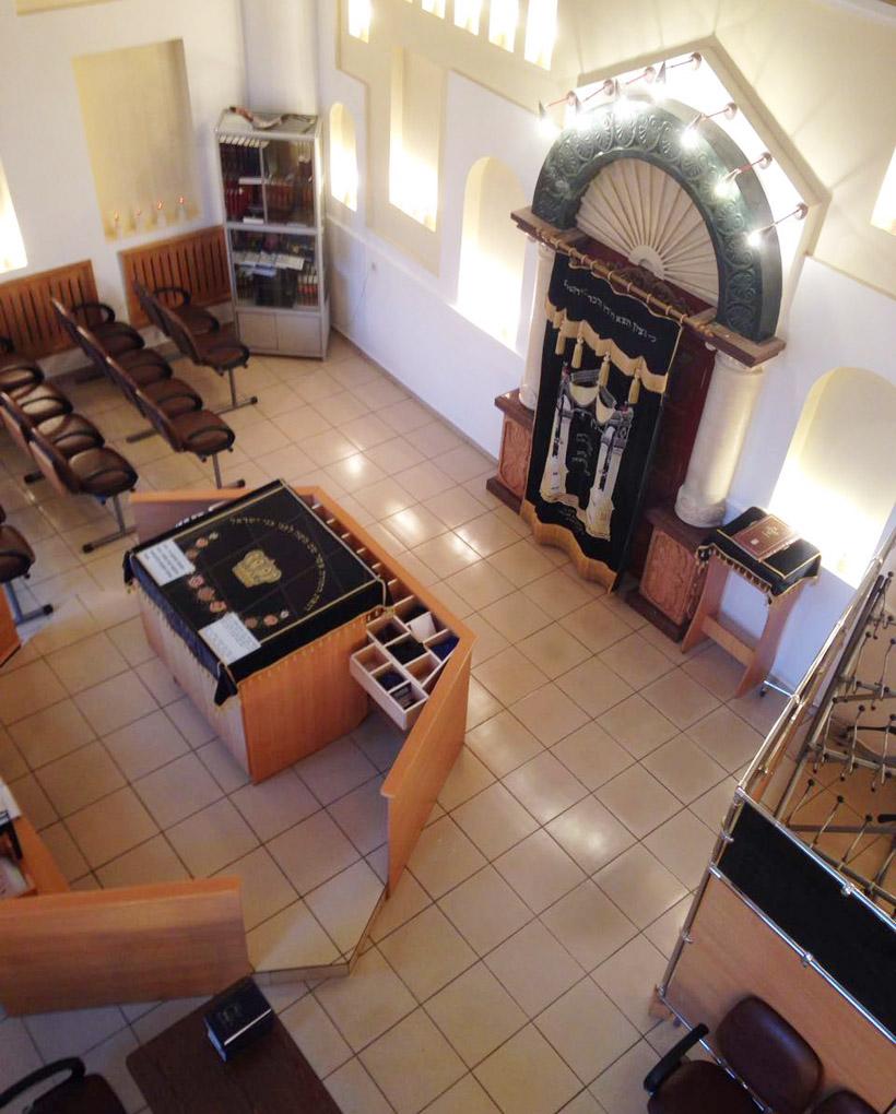 シナゴーグには博物館が併設されていて、ビロビジャンにおけるユダヤ文化や歴史的な文献、資料などが展示されている