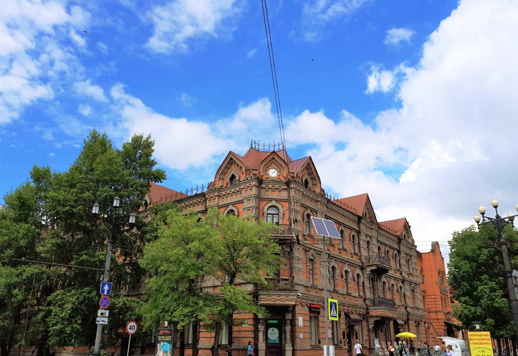 ハバロフスク街歩きオンラインツアー開催