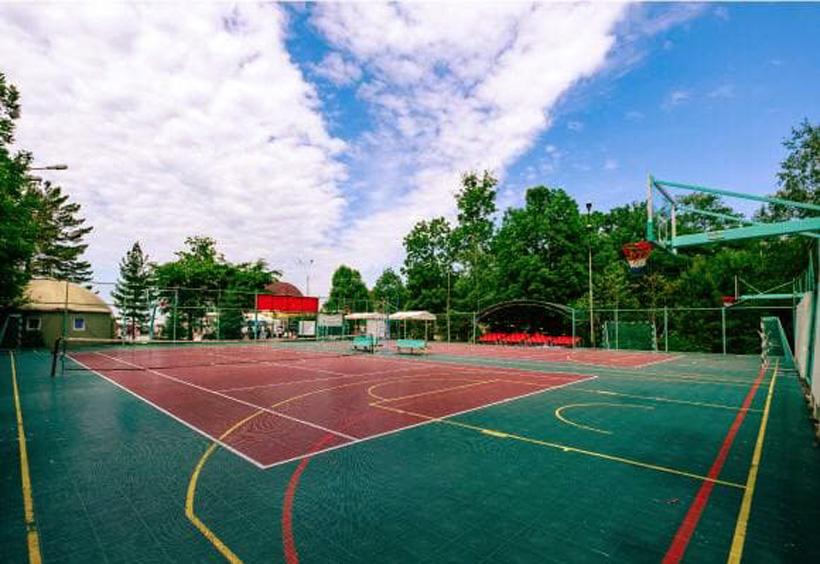 バスケットボール3×3のロシア代表選手団がここで最終調整を行いました