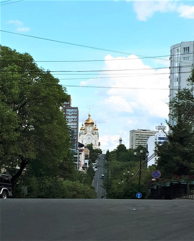 この町で最も大きなスパソ・プレオブラジェンスキー大聖堂