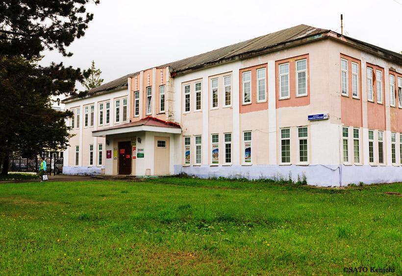 昭和3年(1928)に建てられた旧豊原町役場