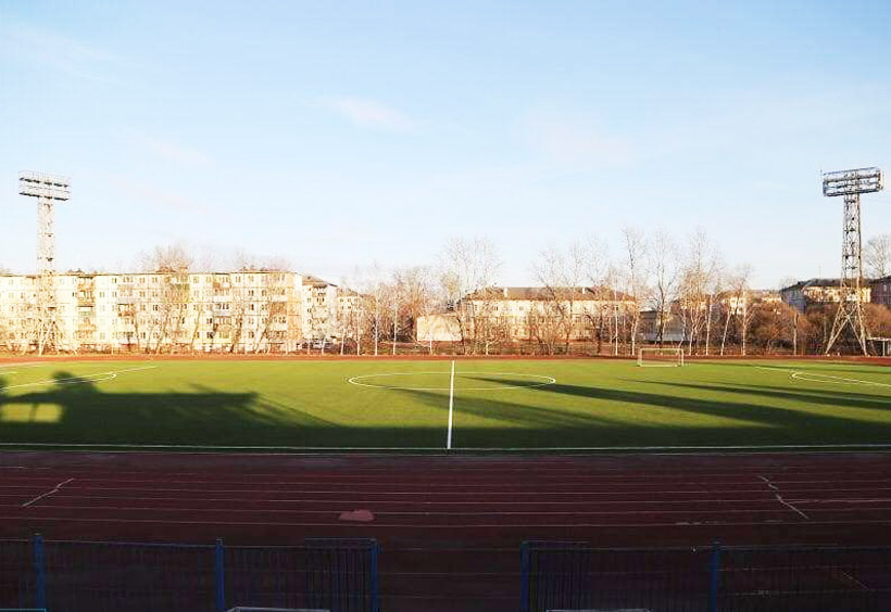 1986年に開設されたスタジアム「ユーナスチ」