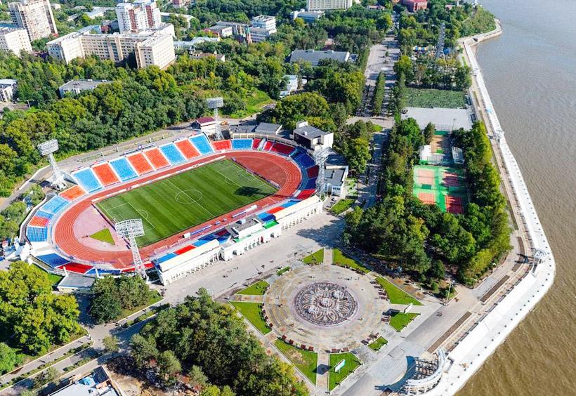 1957年に開設されたレーニンスタジアム