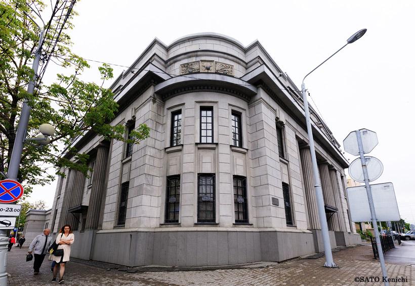 日本時代の歴史建築で、1930年代に竣工された北海道拓殖銀行豊原支店
