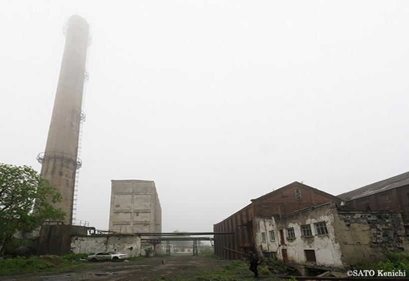旧落合王子製紙工場の廃墟