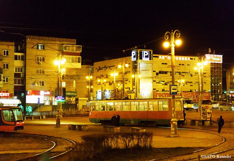ハバロフスク駅までは徒歩2~3分